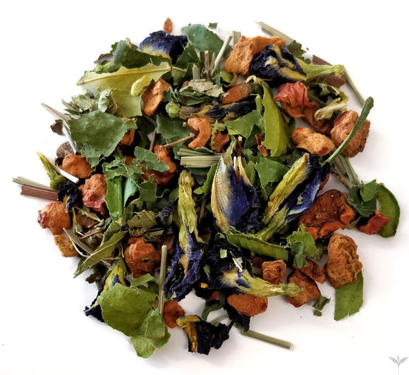 Blue Apple & Lime Loose Leaf Fruit Tea