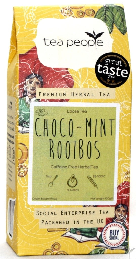 Chocolate Mint Rooibos Loose Leaf Herbal Tea