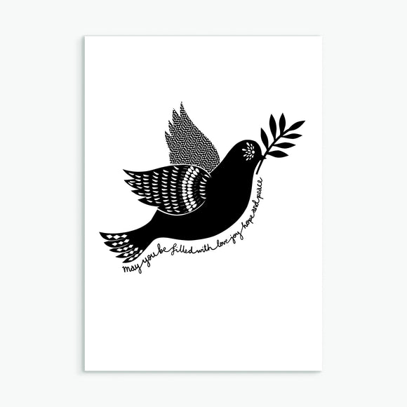 The Dove Greetings Card