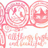 All Things Bright and Beautiful - Hymn Print