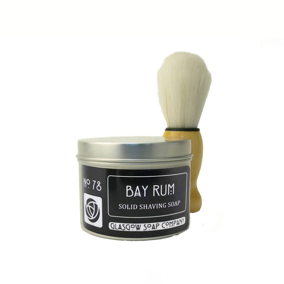 Bay Rum Solid Shaving Soap