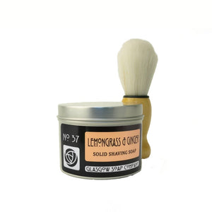 Lemongrass & Ginger Solid Shaving Soap
