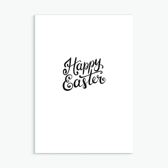 Happy Easter Simple Lettered Cards