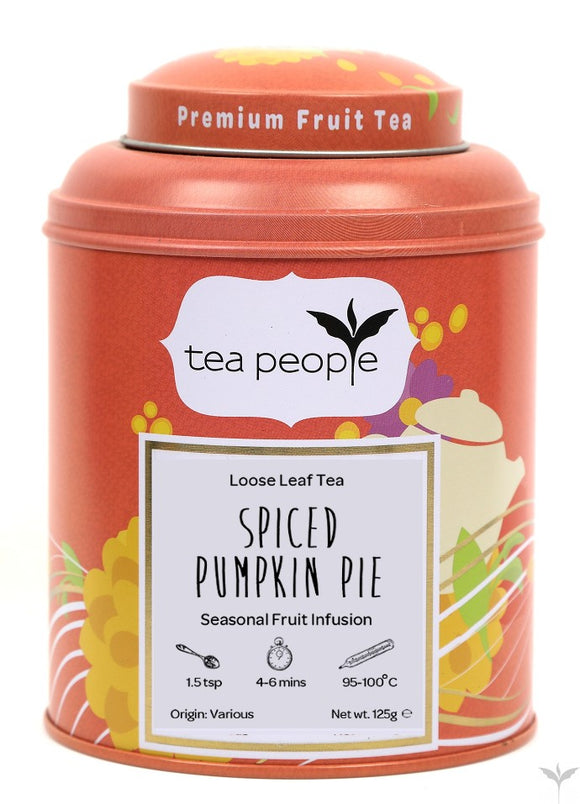 Spiced Pumpkin Pie Loose Leaf Fruit Tea