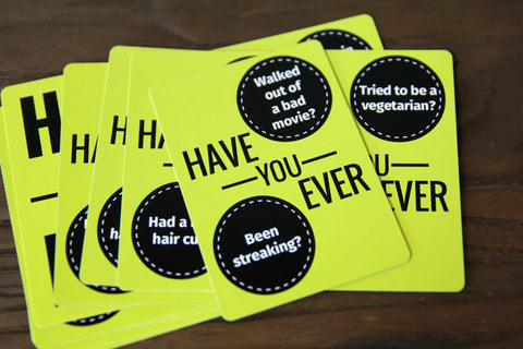 Have Your Ever? - Icebreaker Question Cards
