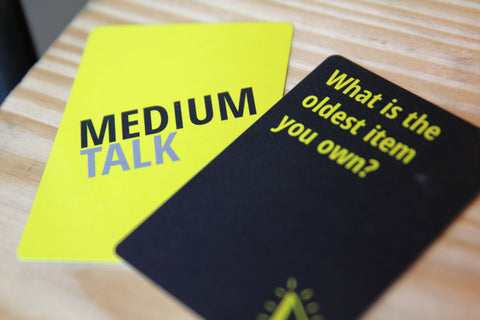Medium Talk Cards - Icebreaker Question Cards
