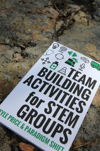 Team Building Activities for STEM Groups Book