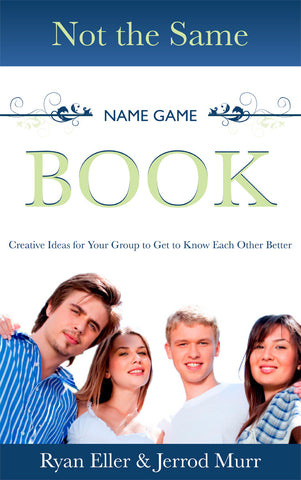 Not The Same Name Game Book - Ebook activity digital download.