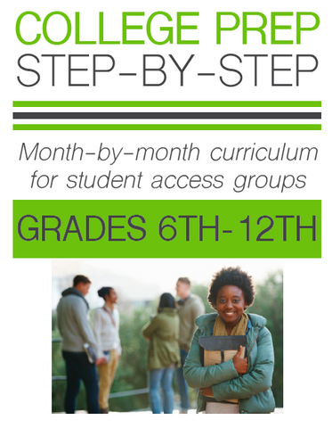 College Prep Step-by-Step Printed Curriculum Book