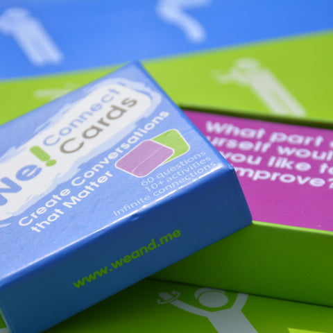We! Connect Cards – Conversation Starters