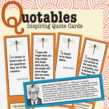 Quotables - Inspiring Cards to Spark Creativity, Conversation & Reflection