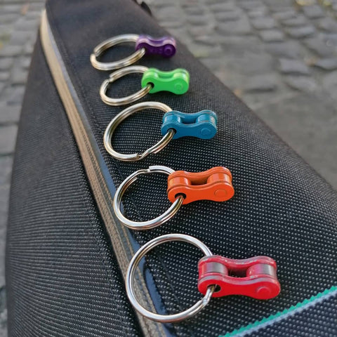 Bicycle chain keyholders for cyclists by Felvarrom