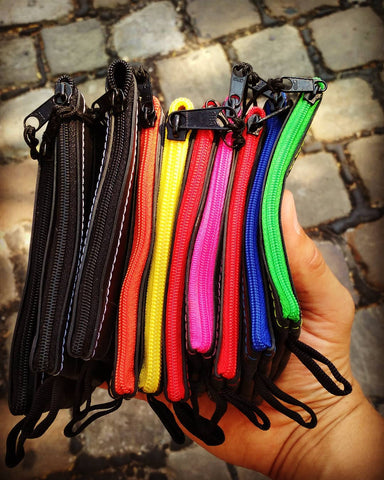 Upcylced Bicycle Tube Coin purse colors