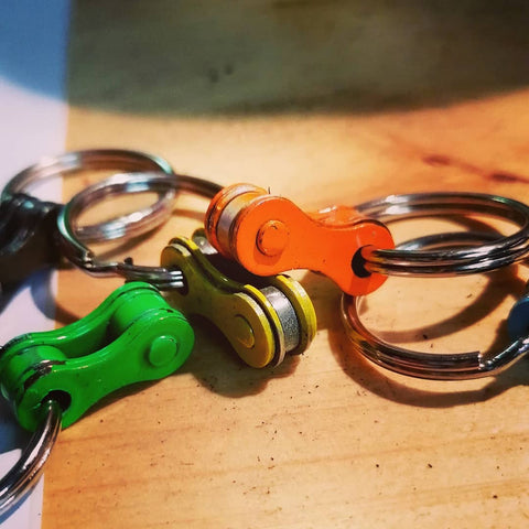 bicycle keyholders are ready for Christmas!