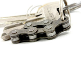 "Keyholder ""6"" – recycled bike keychain by Felvarrom bicycle upcyclery - 3"