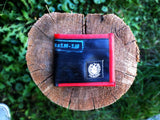 Mens Reclaimed Wallet in the Wild, Red
