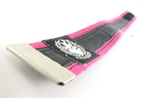 Cycling trousers strap – pink by Felvarrom bicycle upcyclery - 2