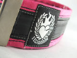 Cycling trousers strap – pink by Felvarrom bicycle upcyclery - 3