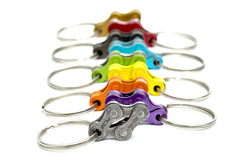 Cyclists keyholder from bicycle chain by Felvarrom