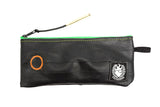 Green Pen case made of Sustainable Bicycle Inner Tube by Felvarrom