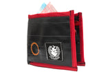 Cyclists Biketube Wallet Red by Felvarrom