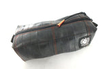 Tool bag red from bicycle bike tube rubber