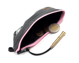 """CoInTube"" Recycled Purse, M, pink zipper by Felvarrom Bicycle Upcyclery - 2"