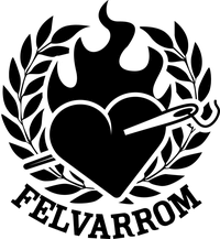 Felvarrom Bicycle Upcyclery logo