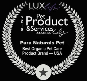 Pure and Natural Pet USDA Certified Organic Dog Dental Kit