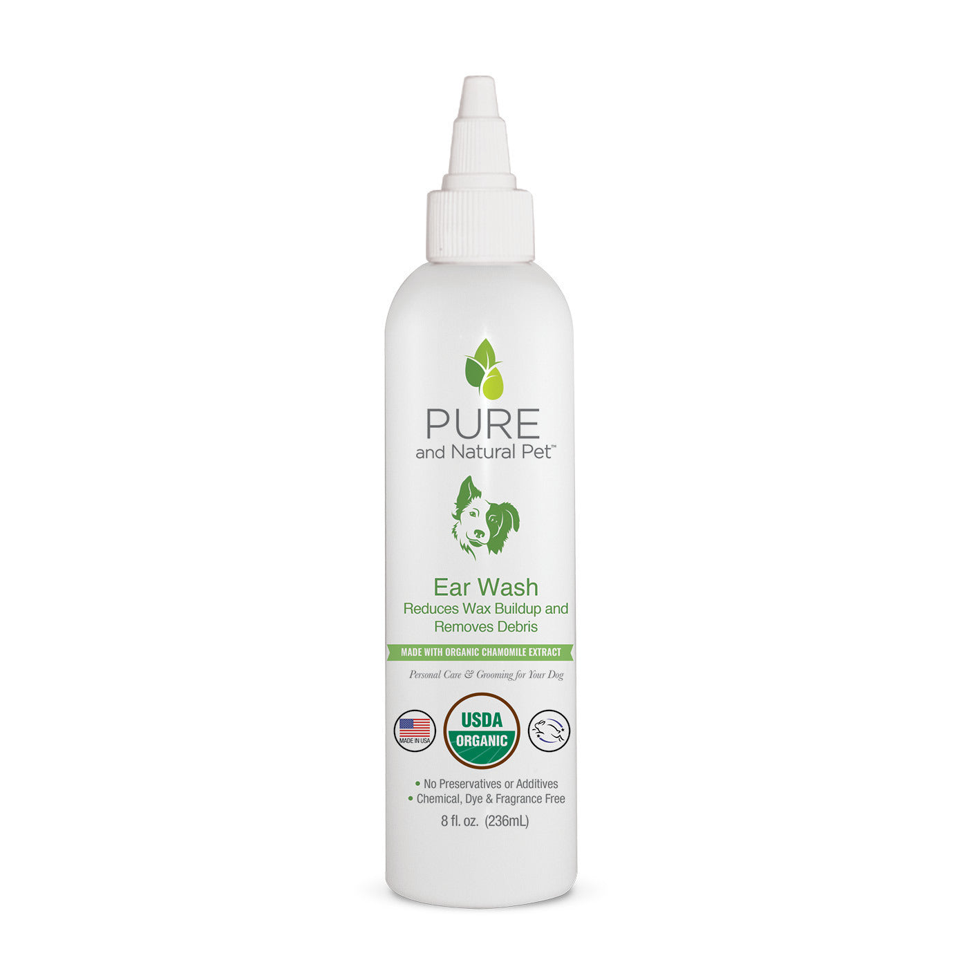 Pure and Natural Pet Ear Wash