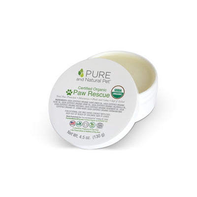 Pure and Natural Pet Certified Organic Paw Rescue