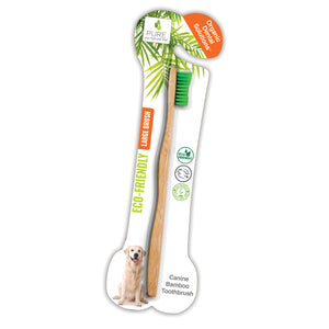 Pure and Natural Pet Organic Solutions Bamboo Dog Toothbrush