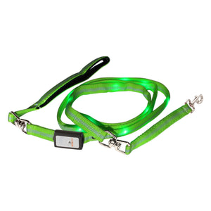 Nite Beams LED USB Rechargeable Lighted Dog Leash