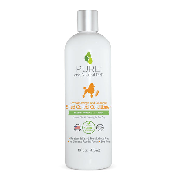 Pure and Natural Pet Shed Control Conditioner