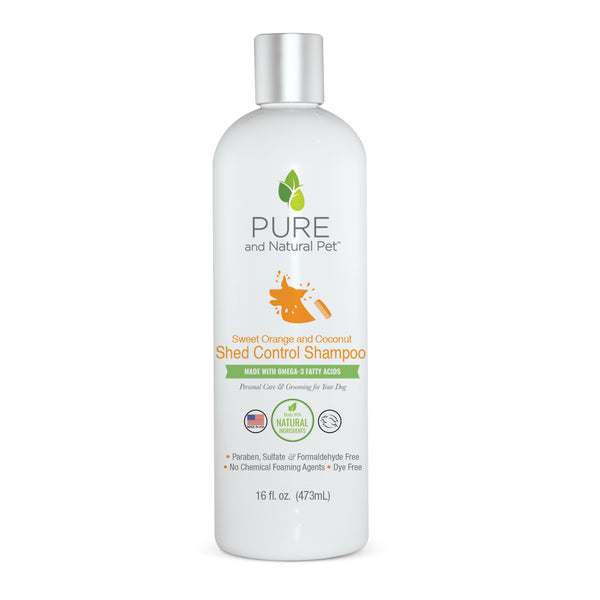 Pure and Natural Pet Shed Control Shampoo