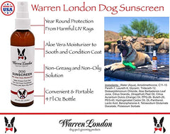 Warren London Dog Sunscreen