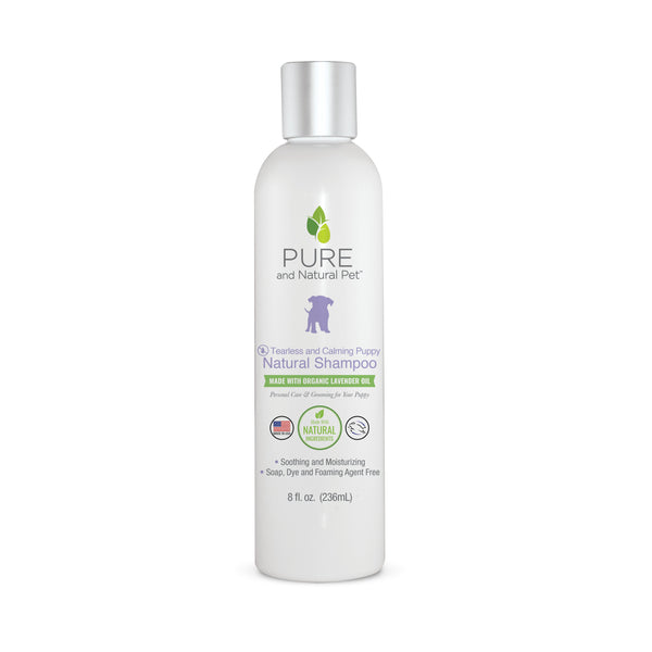 Pure and Natural Pet Tearless and Calming Puppy Natural Shampoo