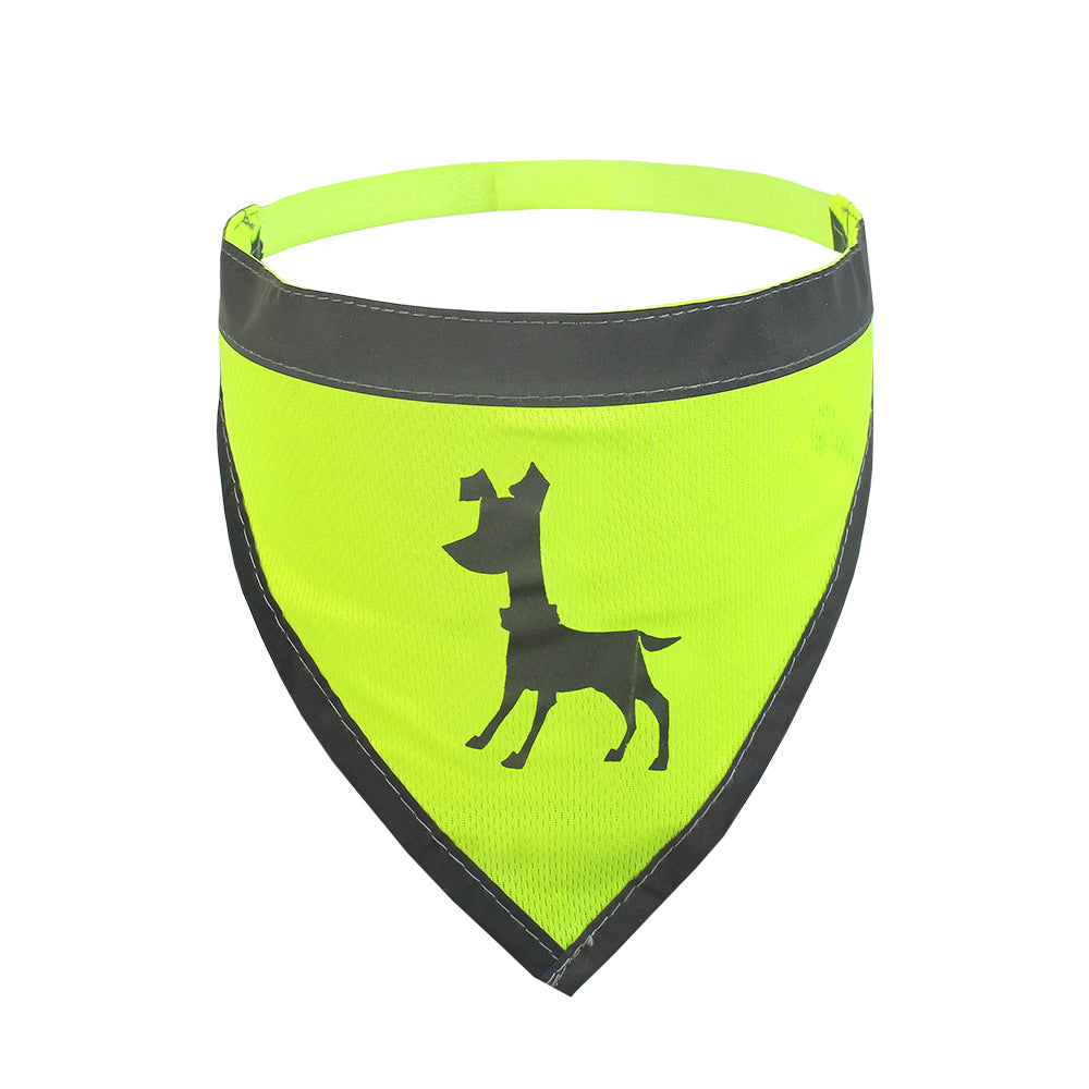 Reflective High Visibility Dog Bandana