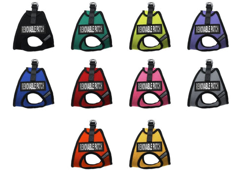 Dogline York Soft Mesh Service Dog Harness + Built-In Hook & Loop Fastener