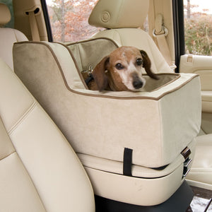 Luxury High-Back Console Dog Car Seat