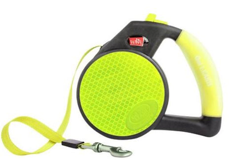 Wigzi Reflective Retractable Gel Leash