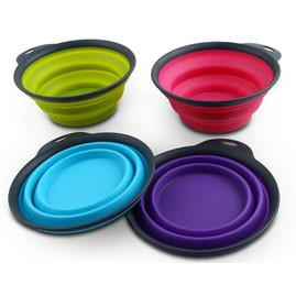 Collapsible Dog Water Bowl -BPA FREE - Keep Doggie Safe