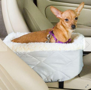 Console Dog Car Seat - Keep Doggie Safe