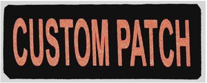Personalized Reflective Removable Patches (Set of 2)