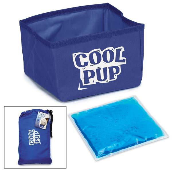 Cool Pup Portable Cooling Water Bowl For Dogs - Keep Doggie Safe