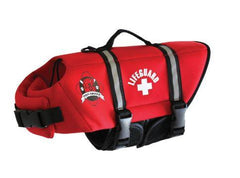 Bright Red Life Jacket