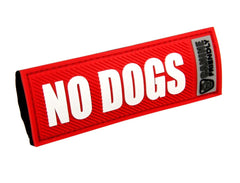 Bark Notes Dog  Safety Tags for Collars &  Leashes - Keep Doggie Safe