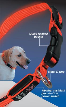Nite Ize Nite Dawg LED Dog Collar - Keep Doggie Safe