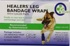 HEALERS Medical Leg Wraps with Gauze Pads - Keep Doggie Safe