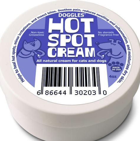 Hot Spot Cream for Dogs - Keep Doggie Safe